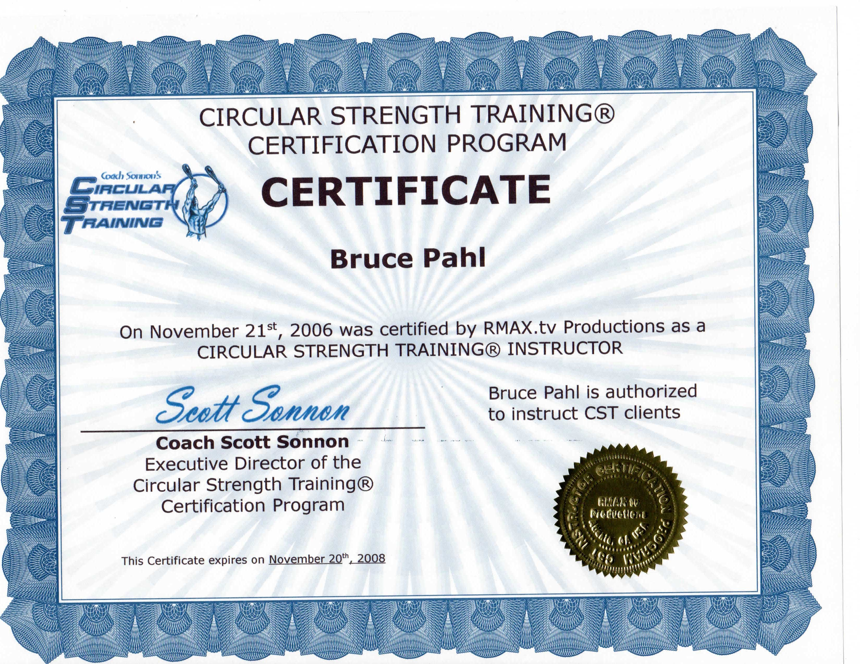 About bruce bruce pahl circular strength training coach certification xflitez Images